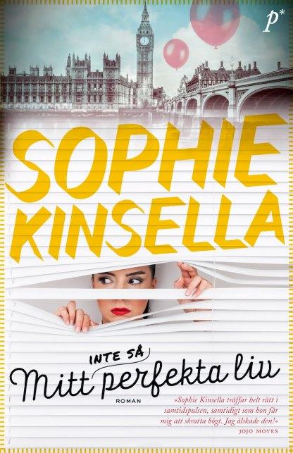 Book cover: Mitt inte så perfekta liv